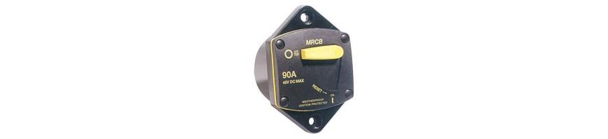 Disjoncteur de 70A à 100 A pour moteur 12 volts ou 24 volts