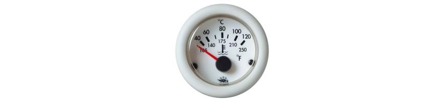 Indicateur de température d'huile