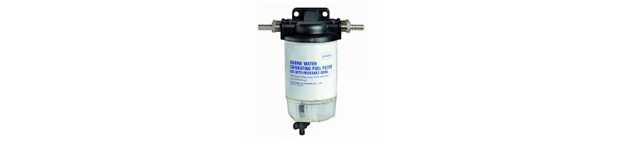 filtres carburant avec ou sans décanteur pour bateau, Filtres à eau pour moteur, Cartouche de filtre à huile, équipement bateau