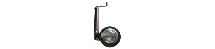 Pièces remorque - Treuil manuel, roue jockey | Navi Discount