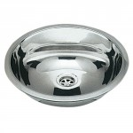 Evier inox rond