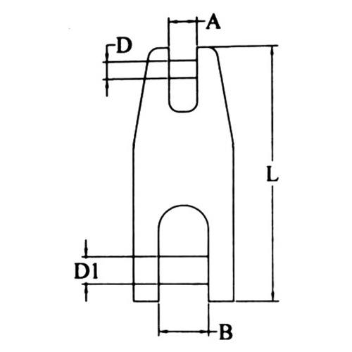 Jonction fixe chaîne-ancre