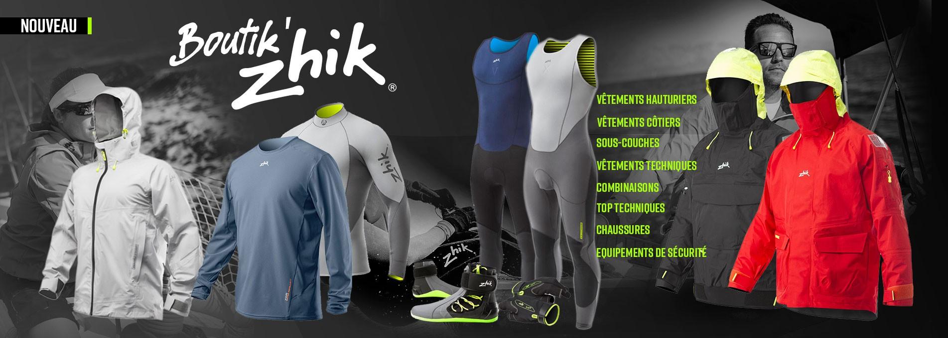La Boutique des produits Zhik
